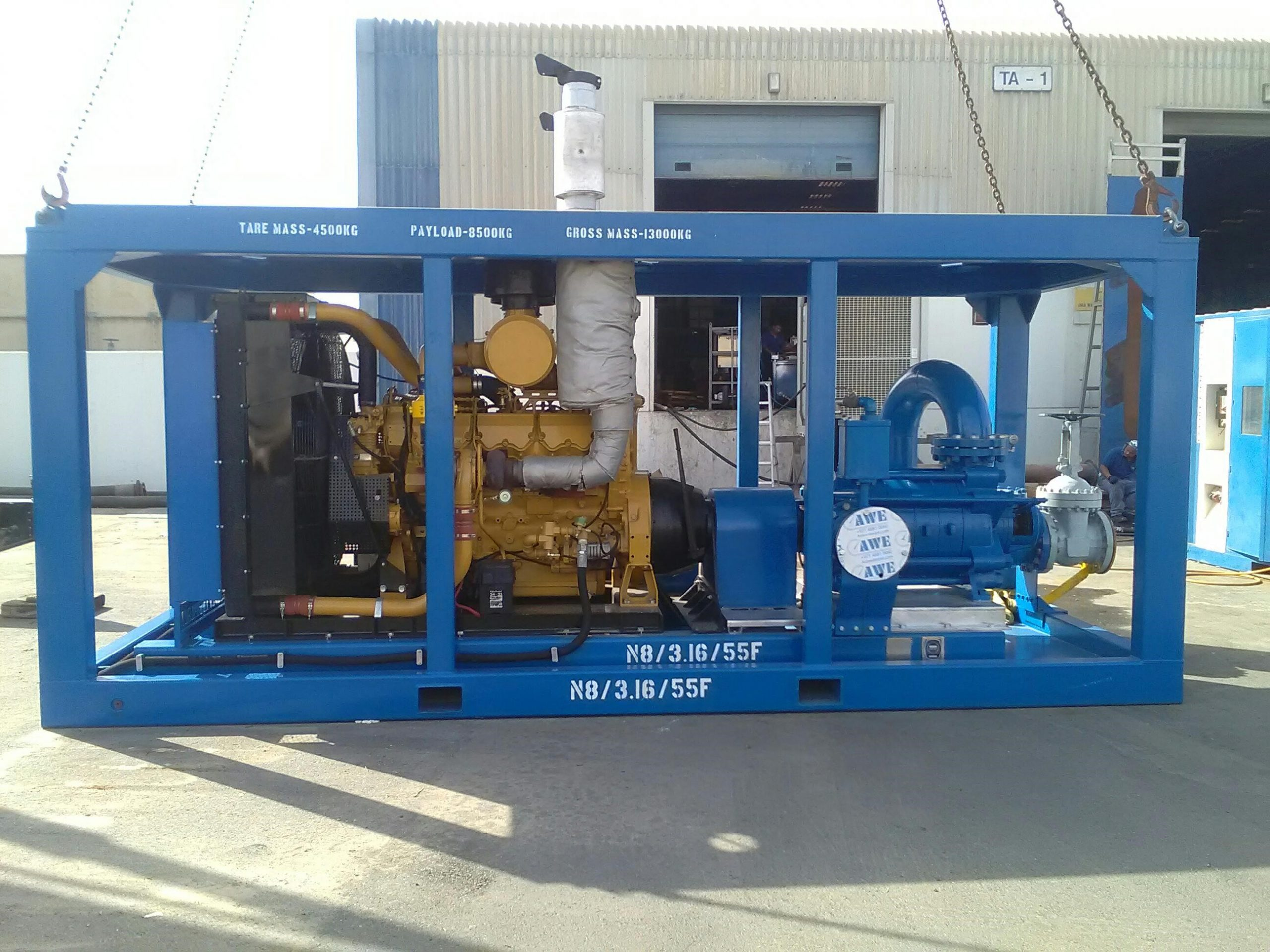 AWE Custom Built Centrifugal Pumpset